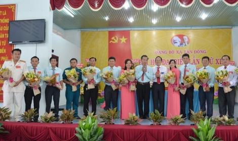 Đảng bộ xã Tân Đông Đại hội đại biểu lần thứ XII, nhiệm kỳ 2020-2025