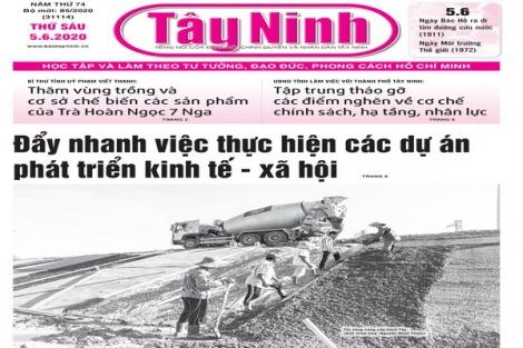 Điểm báo in Tây Ninh ngày 05.6.2020