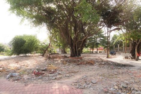 Công viên Thắng Lợi bị xuống cấp