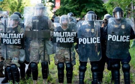 Thủ đô Washington sắp có biểu tình lớn, Nhà Trắng bố trí lính bắn tỉa ứng phó