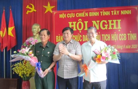 Hội Cựu chiến binh tỉnh có lãnh đạo mới