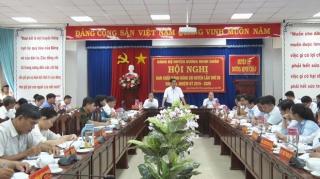 Dương Minh Châu hội nghị Ban Chấp hành Đảng bộ huyện lần thứ 20 khoá XI, nhiệm kỳ 2015-2020