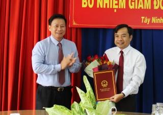 Ông Nguyễn Hoàng Nam giữ chức Giám đốc Sở Tư pháp
