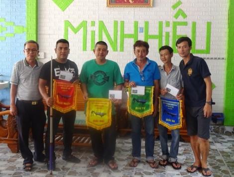 Gò Dầu tổ chức giải Bi da carom 3 băng