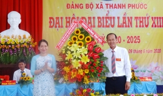 Đại hội Đảng bộ xã Thanh Phước Gò Dầu lần thứ XIII, nhiệm kỳ 2020-2025