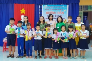 Chi hội Phụ nữ Phòng PV05 tích cực tuyên truyền pháp luật cho trẻ em