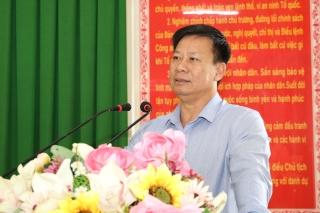 UBND tỉnh: Trao thưởng đột xuất công tác đấu tranh phòng, chống tội phạm