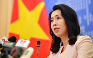 Việt Nam lên tiếng về thông tin Trung Quốc hạ cáp ngầm ở Hoàng Sa