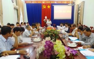 UBND huyện Gò Dầu họp định kỳ tháng 6.2020
