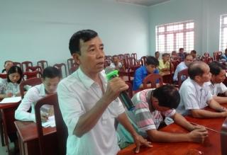 Đại hiểu HĐND tỉnh-huyện tiếp xúc cử tri tại Thị trấn Gò Dầu