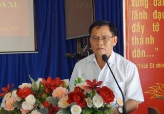 Đại biểu HĐND tỉnh, huyện tiếp xúc với cử tri xã Phan