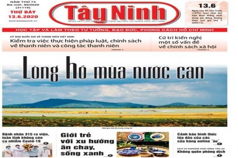 Điểm báo in Tây Ninh ngày 13.6.2020