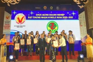 Lễ trao chứng nhận hàng Việt Nam chất lượng cao năm 2020