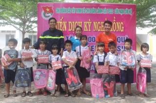 Thực hiện Chiến dịch Kỳ nghỉ hồng tại xã Phước Minh