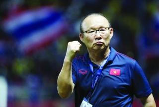 Thầy Park lọt top HLV xuất sắc nhất châu Á
