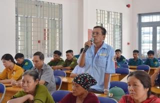 Đại biểu HĐND 2 cấp tỉnh, huyện tiếp xúc cử tri 2 xã Tân Thành, Tân Hà