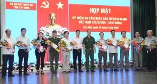 Bộ CHQS tỉnh: Họp mặt kỷ niệm 95 năm Ngày Báo chí cách mạng Việt Nam 21.6