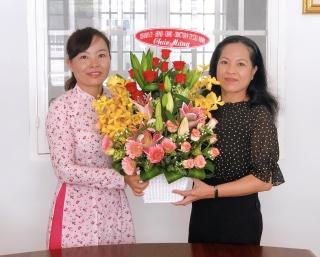 Lãnh đạo Thành uỷ Tây Ninh chúc mừng Ngày Báo chí cách mạng Việt Nam tại Trung tâm Văn hoá, Thể thao và Truyền thanh