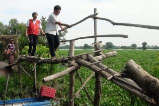 Xã Phước Bình: Khởi công xây dựng cầu nông thôn