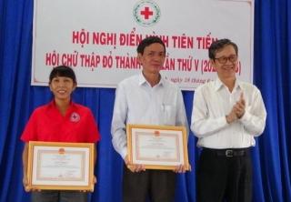 Hội Chữ thập đỏ TP.Tây Ninh tổ chức Hội nghị điển hình tiên tiến lần thứ V
