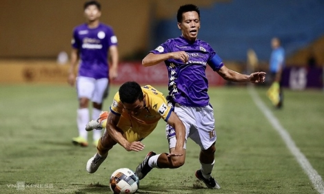 Hà Nội lần đầu thất thủ ở V-League sau ba năm