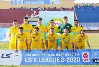 XMF.YTL Tây Ninh chia điểm với CLB bóng đá Huế