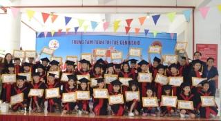 Trung tâm Toán Trí tuệ Geniuskid Tây Ninh: Trao chứng chỉ quốc tế PAMA năm 2019 cho học viên