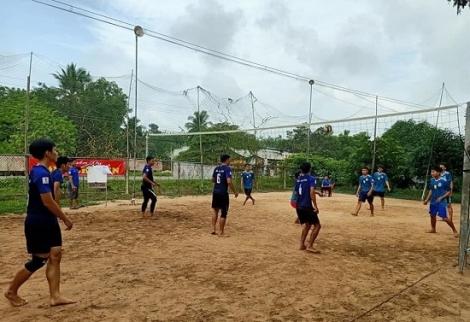 Châu Thành: Tổ chức Giải bóng chuyền thanh niên tôn giáo năm 2020