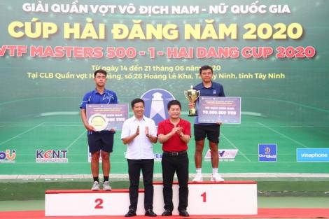 Lý Hoàng Nam vô địch đơn nam giải VTF Masters 500 -1