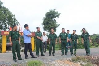 Khảo sát hỗ trợ xây dựng điểm dân cư liền kề chốt dân quân biên giới tại Tây Ninh