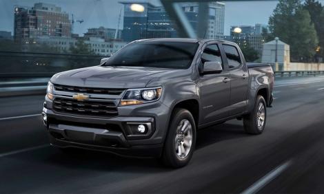 Chevrolet Colorado 2021 diện mạo mới