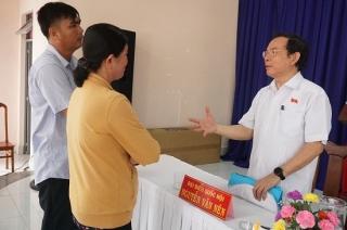 ĐBQH Nguyễn Văn Nên tiếp xúc cử tri Thị xã Trảng Bàng