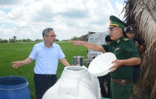 Đại biểu Quốc hội khảo sát công tác phòng, chống dịch Covid-19 tại CKQT Mộc Bài