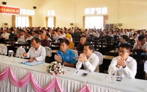 Tiếp xúc cử tri tại TP Tây Ninh