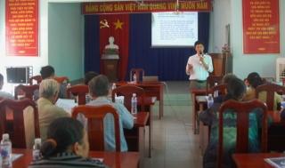 Tập huấn công tác bình đẳng giới và bảo vệ trẻ em