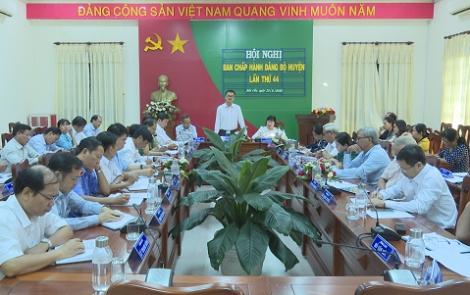 Kinh tế huyện Bến Cầu tiếp tục duy trì và phát triển so với nghị quyết