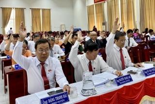 HĐND huyện Châu Thành tiến hành kỳ họp thứ 9