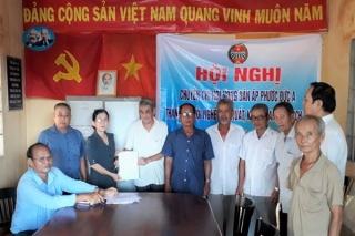 Phước Đông: Chuyển đổi Chi hội nông dân ấp thành Chi hội nghề nghiệp