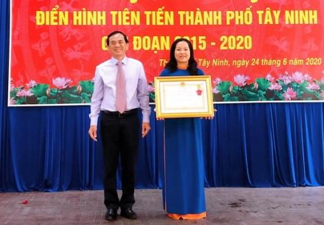 TP.Tây Ninh: Hội nghị điển hình tiên tiến giai đoạn 2015-2020