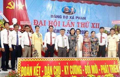 Xã Phan tổ chức Đại hội Đảng bộ lần thứ XII, nhiệm kỳ 2020 - 2025