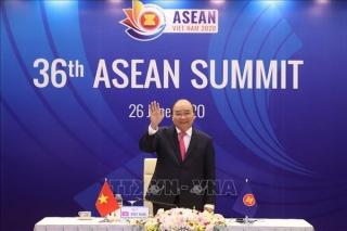 Hội nghị cấp cao ASEAN 36 nhấn mạnh sự đoàn kết nội khối trong đại dịch COVID-19