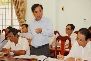 Chủ tịch UBND tỉnh làm việc với UBND huyện Gò Dầu