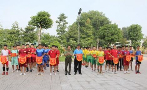 Công an Tây Ninh: Khai mạc giải bóng chuyền chào mừng Đại hội đảng bộ các cấp