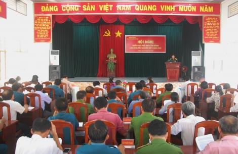 Gò Dầu: Triển khai kế hoạch làm công tác dân vận