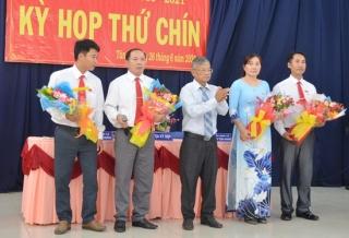 Kiện toàn các chức danh lãnh đạo chủ chốt xã Tân Hà, huyện Tân Châu
