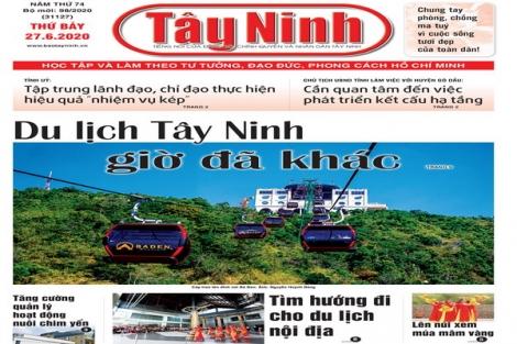 Điểm báo in Tây Ninh ngày 27.6.2020