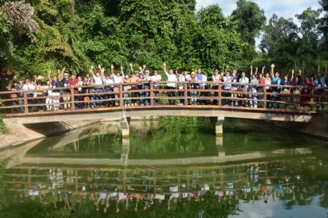 Doanh nghiệp khảo sát khu du lịch Vườn quốc gia Lò Gò – Xa Mát