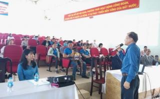Công đoàn Khu kinh tế Tây Ninh tổ chức khám bệnh miễn phí