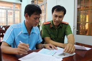 Tổ chức cấp căn cước công dân lưu động tại xã Suối Đá