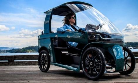 CityQ Car-eBike - xe đạp điện kiểu dáng ôtô